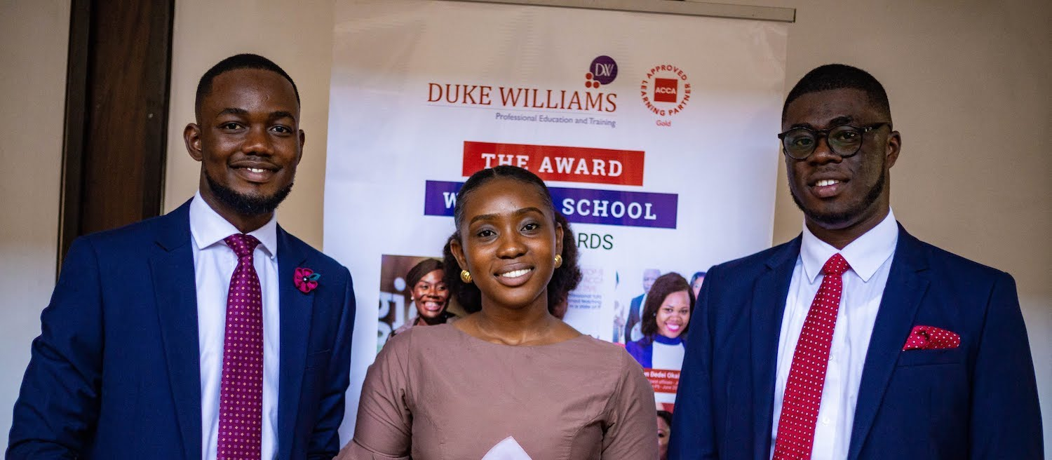 acca award winners banner duke williams